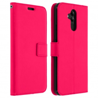 Flip Stand Cover Brieftasche & Standfunktion Huawei Mate 20 lite - Fuchsienrot
