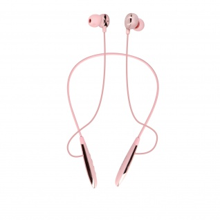 XO Sport Bluetooth In-Ear Kopfhörer 10 Stunden Akkulaufzeit - Rosa