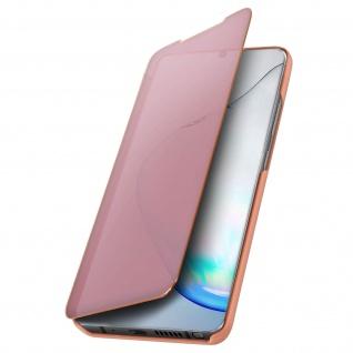 Mirror Klapphülle, Spiegelhülle für Samsung Galaxy Note 10 Lite - Rosegold - Vorschau 5