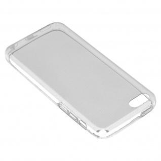Apple iPhone 5C 360° Rundumschutz - transparente Hülle + Glas-Displayschutzfolie
