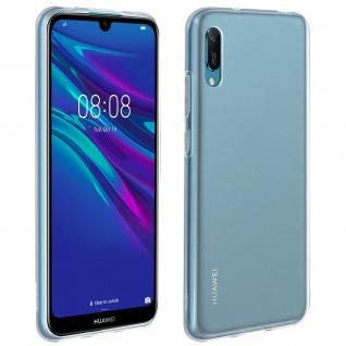 Huawei Y6 2019 Backcover, Original Huawei Schutzhülle - Transparent
