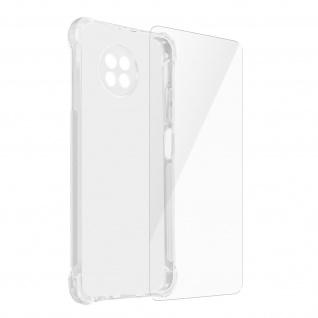 Imak Schutz Set für Xiaomi Redmi Note 9T 5G: Hülle + Schutzfolie ? Transparent