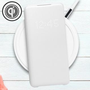 Original Samsung LED-View Cover + Kartenfach Samsung Galaxy S20 - Weiß - Vorschau 5