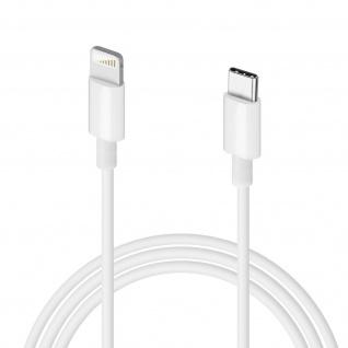 USB-C / Lightning Fast Charge 1m Kabel - Weiß