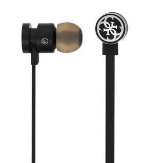 Guess Bluetooth kabellose in-ear Kopfhörer - Mit Freisprechanlage - Schwarz