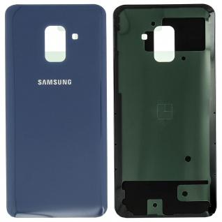 Ersatzteil Akkudeckel, neue Rückseite für Samsung Galaxy A8 2018 - Blau