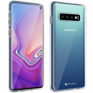 4Smarts 360° Protection Pack für Samsung Galaxy S10 : Cover+ Displayschutzfolie