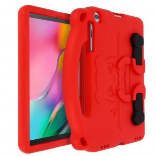 Stoßfeste Panda Tablet-Schutzhülle Samsung Galaxy Tab A 10.1 2019 ? Rot