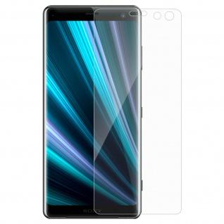 Displayschutzfolie aus gehärtetem Glas für Sony Xperia XZ3 â€? 9H Härtegrad
