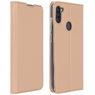 Klappetui mit Kartenfach & Standfunktion Samsung Galaxy A11 - Rosegold