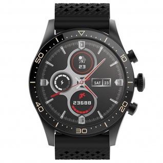 Forever Icon IP68 wasserdichte Smartwatch, Aktivitätstracker â€? Schwarz