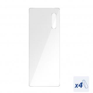 4x Rückkamera Schutzfolien, 6H flexibles Glas für Vivo Y70, 3mk ? Transparent