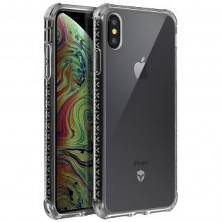 Force Case Air stoßfeste Silikonhülle für Apple iPhone XS Max - Transparent
