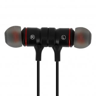 Bluetooth magnetische in-ear Kopfhörer Wave Concept - Fernbedienung + Mikrofon
