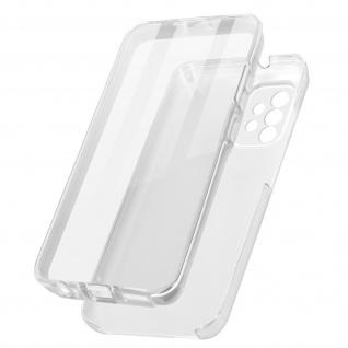 Schutzhülle für Samsung Galaxy A32, Vorder- + Rückseite ? Transparent