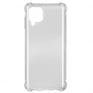 Akashi Samsung Galaxy A12 Silikon Bumper Hülle, stoßfest â€? Transparent