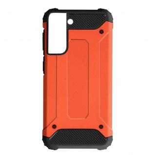 Defender II schockresistente Schutzhülle für Samsung Galaxy S21 Plus â€? Orange