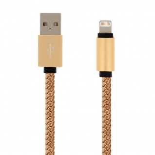 iPhone/iPad/ USB-Kabel Gold - Moxie - Aufladen & Synchronisierung