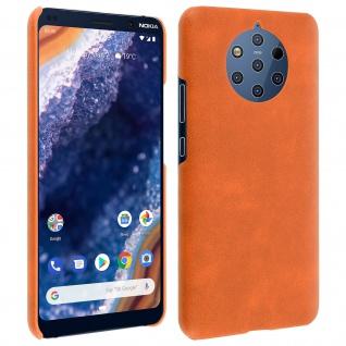 Hardcase, Polycarbonat Schutzhülle Nokia 9 PureView, Vintage Case - Orange