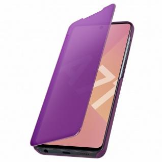 Mirror Klapphülle, Spiegelhülle für Samsung Galaxy A71 - Violett - Vorschau 5