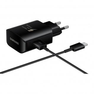 Ladegerät 2, 1 A + USB-C-Kabel 1, 5 m Original Samsung - Schwarz