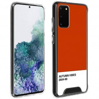 Stoßfeste Handyhülle für Galaxy S20, Made in France ? Autumn Vibes Design