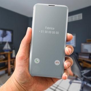 Original Samsung Clear View Cover für Samsung Galaxy S10 Plus - Weiß - Vorschau 3