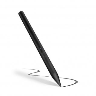 Hochpräziser, wiederaufladbarer Eingabestift für iPad, 12 Std. Akku - Schwarz