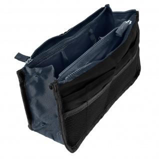 Universelle Tasche mit vielen Fächern - Schwarz