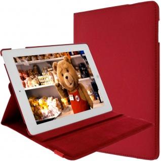 Flip-Cover für Apple iPad 2, 3, 4 und iPad Retina mit Standfunktion ? Rot