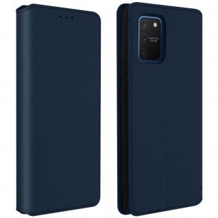 Kunstleder Cover Classic Edition Samsung Galaxy S10 Lite - Blau