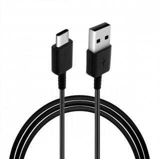 Original Samsung EP-DR140AWE USB-C / USB Ladekabel, Kabellänge 80cm - Schwarz