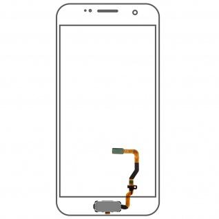Ersatzteil Haupttaste mit Flexkabel für Samsung Galaxy S7 Silber