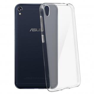 Ultradünne Schutzhülle aus Silikon transparent für Asus ZenFone Live ZB501KL