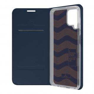 Klappetui mit Kartenfach & Standfunktion Samsung Galaxy A22 ? Dunkelblau