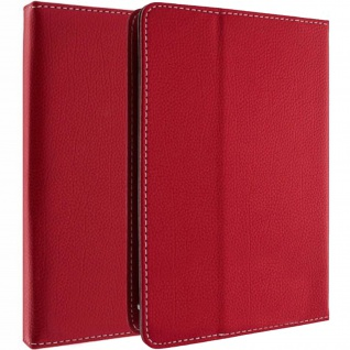 Universal Flip-Schutzhülle für 7'' Tablets mit Griff & Standfunktion - Rot