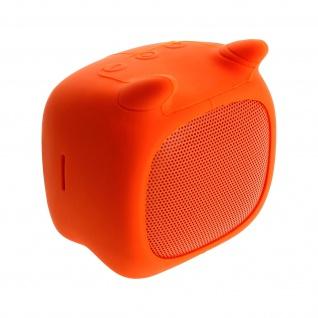 Qushini Bull, 3W Wireless Mini Bluetooth Lautsprecher - Orange