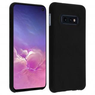 Samsung Galaxy S10e Soft Touch kratzfeste Silikonhülle, soft case ? Schwarz