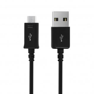 Original Samsung 0.9m USB/ Micro-USB Kabel ?Aufladen & Synchronisierung? Schwarz