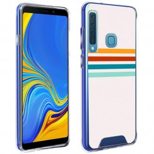 Handyhülle für Galaxy A9 2018, Made in France ? Stripes Design