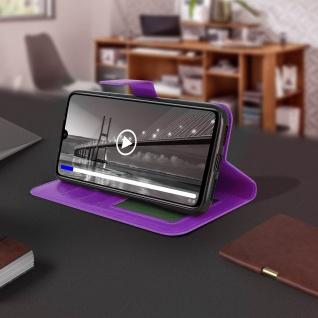 Flip Stand Cover Brieftasche & Standfunktion für Xiaomi Redmi 7 - Violett - Vorschau 4