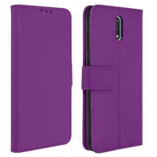 Nokia 2.3 Flip-Cover mit Kartenfächern & Standfunktion - Violett