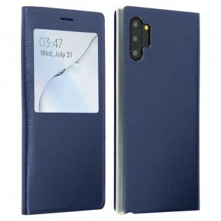 S-View Flip Cover mit Sichtfenster & Kartenfach Galaxy Note 10 Plus - Dunkelblau