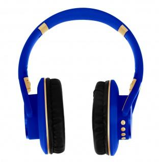 LKD900 Stereo Bluetooth Headset mit Multifunktionstaste & Mikrofon - Blau