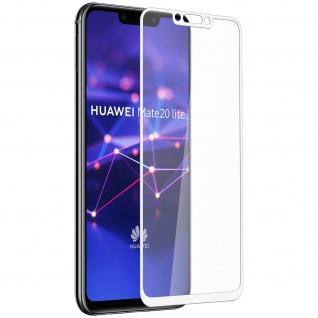 9H kratzfeste bruchsichere Glas-Displayschutzfolie Huawei Mate 20 lite - Weiß