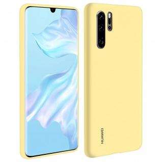 Huawei P30 Pro Soft-Touch Backcover, Original Huawei Schutzhülle - Gelb