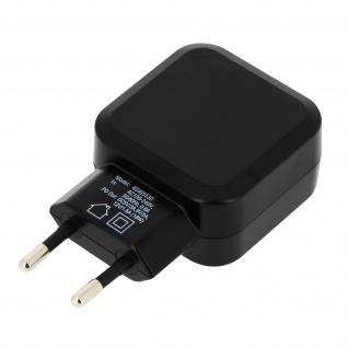 3A Wand-Ladegerät + USB-C/ iPhone/iPad Ladekabel Fast Wall 4Smarts - Schwarz