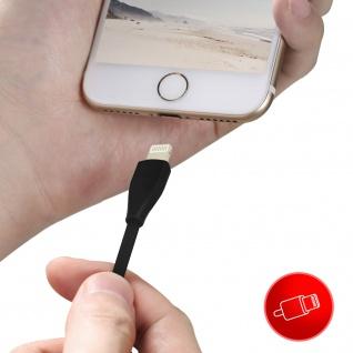 USB / Lightning Ladekabel / Datenkabel, Kabellänge: 1m, Ipipoo ? Schwarz - Vorschau 4