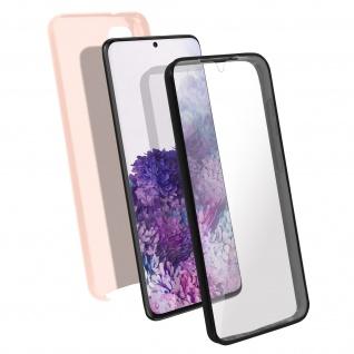Schutzhülle für Samsung Galaxy S20, Vorder- + Rückseite ? Rosa