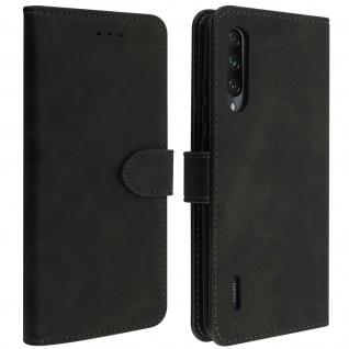Buffalo Kunstlederetui Xiaomi Mi A3, Standfunktion & Kartenfächer - Schwarz